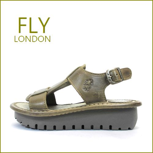 FLY LONDON フライロンドン fy5005ov  オリーブブラウン 【味のある いい革オイルレザー・・かわいいソール・・FLY LONDON・・足を包む最高の履き心地】【レディース】