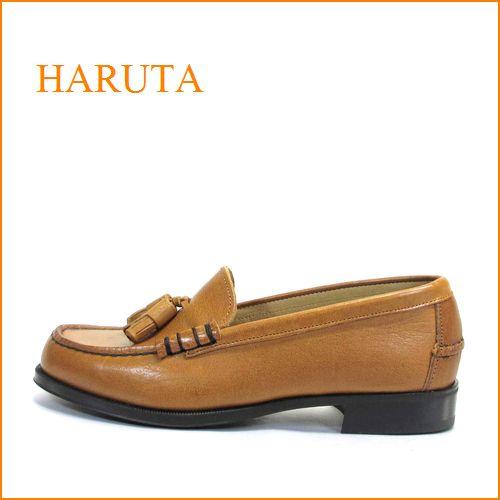 haruta   ハルタ ha303br ライトブラウン 【しっかり馴染む 良質レザー・・かわいいタッセル・・・ 大人ローファー 】