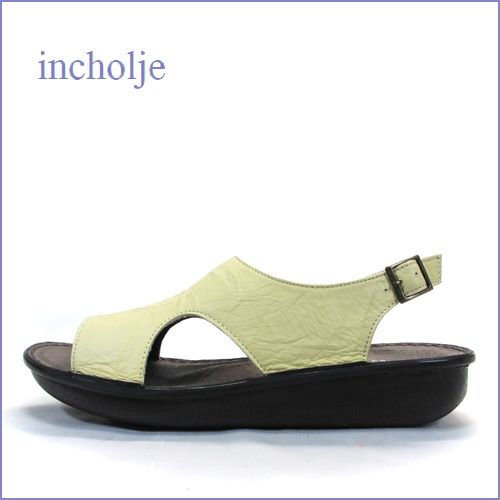 incholje インコルジェ in8803bg  ベージュ 【シンプルで深めがオシャレ・・アーチにフィットする柔らかソール。incholje ぺたんこ サンダル】