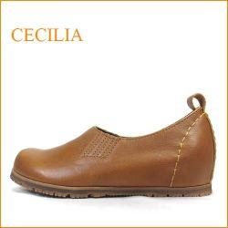cecilia セシリア  ce02ca キャメル 【可愛いまん丸トゥ・・楽らくワイズ 巾広4E・cecilia シンプルな プレーンパンプス】