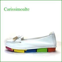 carissimoalte  カリシモアルテ  cs00312iv  アイボリー 【可愛さ満開*リボン* carissimoalte  ソフトなソールのスリッポン】