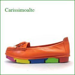 carissimoalte  カリシモアルテ  cs00312or  オレンジ 【可愛さ満開・・ carissimoalte  ソフトなソールの・・*リボン*スリッポン】
