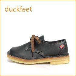 duckfeet  ダックフィート du330bl  ブラック 【ボリューム満点・・・デンマーク生まれの・・duckfeet 可愛い ひもひも マニッシュ】