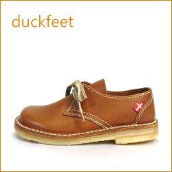 duckfeet  ダックフィート du330br  ブラウン  【ボリューム満点・・・デンマーク生まれの・・duckfeet 可愛い ひもひも マニッシュ】