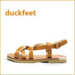 duckfeet  ダックフィート du50va  バイオ 【3.5ミリの極厚レザー・・オール天然素材・・duckfeet 可愛いぺたんこサンダル】