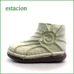 エスタシオン靴  estacion  et114iv アイボリー 【色の宝石箱・・・エスタシオン靴 すごく可愛い ぐるぐるアンクル】