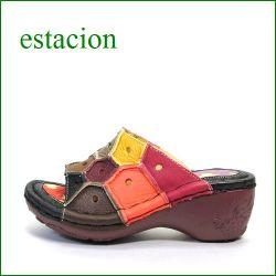 ESTACION エスタシオン et62dma Dマルチ 【色の宝石箱・・エスタシオン・・ヒールアップした・・可愛い!カラフル・サンダル】