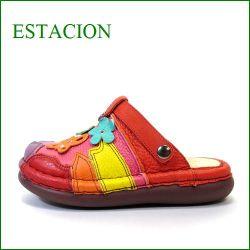エスタシオン靴  estacion et91ma マルチ 【色の宝石箱・・・エスタシオン すごく可愛い まんまるサボ・・】