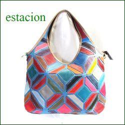 estacion バッグ エスタシオン鞄 etb958mt マルチ 【ワクワクしちゃう!可愛い。色。色。色々。。エスタシオン鞄 タップリ入る・元気なバッグ】