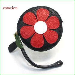 estacion エスタシオン コインケース etw8028re レッド 【可愛いお花・・・いろいろ使える。エスタシオン コインケース】