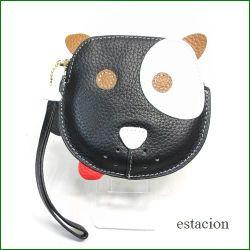estacion エスタシオン コインケース etw8058bl ブラック犬 【可愛いワンちゃん・・・おやつを持ってお出かけ・・エスタシオン コインケース】