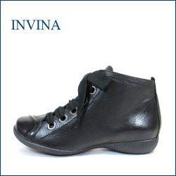 invina インビナ iv3303bl ブラック 【新鮮・ラウンドソールで・・楽らく 歩き放題・・invina・・可愛い ひもひもアンクル】