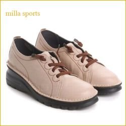 milla sports ミラスポーツ mi11002 【超 軽量ソール登場!!空気を履いた感覚・・milla sports・可愛いゴムレースマニッシュ】