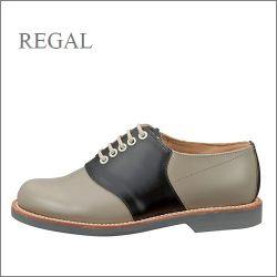 regal  リーガル  re2452bl  ブラックソーテル 【長く使うほどに履きやすくなる・・グッドイヤ―ウェルト製法。。regal サドルシューズ】【お取り寄せ商品】