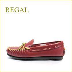 REGAL リーガル re36re レッド  【人気のアメリカンスタイル・・・可愛いリボン・・REGAL・インディアンモカシン】