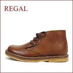 REGAL リーガル re46dn ダ―クブラウン  【履くほどに ヨク馴染む・・本物のこだわり仕立て・・REGAL アンクルブーツ】
