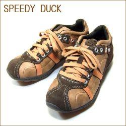 SPEEDY DUCK スピーディ—ダック 7270 ブラウン【履き心地のいいシッカリしたソール】