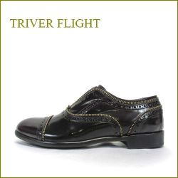 triver flight  トリバーフライト tr16528bo  ボルドー 【イタリア発!ぴったり足に FITする・・triver flight・・高級仕立ての本格ストレートチップ】
