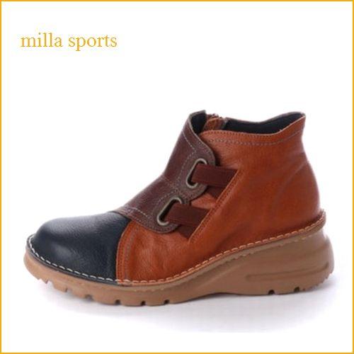 milla ミラ mi1110 【どんどん歩けるラバーソール・・おしゃれなカラ—・・milla・・アンクルショート】