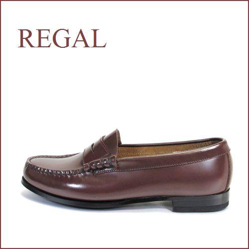 REGAL  リーガル  re14br ブラウン  【履きやすくて丈夫な・・巾広ワイズ 3E(EEE)・・・REGAL 手縫いのモカシン・ローファー】