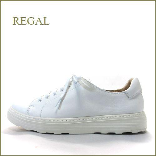 regal  リーガル re29wt  ホワイト 【人気の厚底!バランスの良い上品スタイル。REGAL シンプル・スニーカー】
