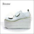 Bzone  bz93wt アンティークオフホワイト 【訳あり商品】【極・厚底ソール!!Bzone すごく可愛い 丸まるマニッシュ】