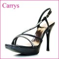 CARRYS キャリーズ ca14bl ブラック 【パーティードレスにあうハイヒールサンダル】