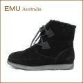 emu australia エミュー featherwood em10961bl ブラック 【可愛い・・レースアップモデル・・emu australia オーストラリア産メリノウール・・フェザーウッド。】