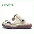 エスタシオン靴 estacion  et247bg  ベージュマルチ 【カラフル・・可愛い!ぷくぷく水玉。。エスタシオン靴・・まん丸サボ】