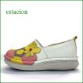 エスタシオン靴  estacion  et356iv アイボリーマルチ 【 新ソールでデビュー・・蜂蜜たっぷり。。エスタシオン靴  ミツバチのスリッポン】