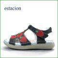 エスタシオン靴  estacion  et358nv ネイビー 【イチゴがいっぱい・・ふわふわクッション  エスタシオン 新型ソールのサンダル】