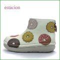 エスタシオン靴  estacion  et373iv  アイボリー 【食べれないけど美味しそう・・ estacion。。みんなで、ドーナッツしない? 】