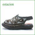 エスタシオン靴  estacion  et506bl グレイマルチ 【軽くなって登場! いい色してる。。エスタシオン ぺたんこサンダル】