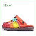 エスタシオン靴 estacion et911mt マルチ 【ちょうちょとお花・ふわふわクッションで楽らく◇ エスタシオン靴・サボ サンダル】