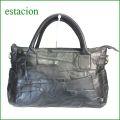 estacion バッグ エスタシオン鞄 etb1005bl ブラック 【シンプルカラーで登場。。エスタシオン鞄 タップリ入る・ショルダーバッグ】