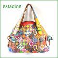 estacion鞄 エスタシオン etb267mt マルチ 【ワクワクしちゃう!可愛い。色。色。色々。。エスタシオン鞄 タップリ入る・元気なバッグ】