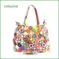 estacion鞄 エスタシオン etb740ma マルチ 【ワクワクしちゃう!可愛い。色。色。色々。。エスタシオン鞄 タップリ入る・元気なバッグ】