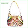 estacion バッグ エスタシオン鞄 etb835mt マルチ 【ワクワクしちゃう!可愛い。色。色。色々。。エスタシオン鞄 タップリ入る・元気なバッグ】