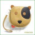 estacion エスタシオン コインケース etw8058br ブラウン犬 【可愛いワンちゃんの財布・おやつを持ってお出かけ・エスタシオン コインケース】