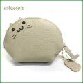 estacion エスタシオン コインケース etw8097bg ベージュ猫 【可愛いねこちゃんの財布・小物入れにもなる・・エスタシオン コインケース】