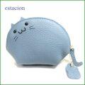 estacion エスタシオン コインケース etw8097bu ブルー猫 【可愛いねこちゃんの財布・小物入れにもなる・・エスタシオン コインケース】