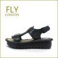 FLY LONDON フライロンドン fy5005bl  ブラック 【味のある いい革オイルレザー・・かわいいソール・・FLY LONDON・・足を包む最高の履き心地】【レディース】