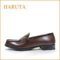 haruta   ハルタ ha4514br ブラウン 【ロングセラーのトラッドスタイル・・履きやすい・・haruta・ 2E(EE)ローファー 】