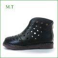 エムティー MT  mt9200bl ブラック 【大人可愛いオブリック スタイル・・メッシュ&パンチング。MT 快適柔らかソール ショートブーツ】