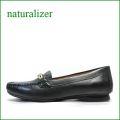 naturalizer靴  ナチュラライザー靴 na314bl  ブラック 【足裏に優しいクッション・・よく馴染む柔らかレザー・・naturalizer靴  ビットローファー】