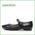 naturalizer靴  ナチュラライザー靴 na466bl  ブラック 【よく馴染むヒツジ革レザー!かわいいシンプル。。naturalizer靴 ストラップ パンプス】