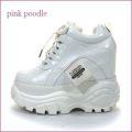 pink poodle ピンクプードル pi8236wt オフホワイトE 【人気急上昇中・・ボリュームたっぷりインヒール。。pink poodle・ダッドスニーカー】