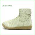 Rin Clover  リンクローバー rc1957iv  アイボリー 【オールシーズン大活躍! 丸さのかわいい・・ Rin Clover  ベルトブーツ】