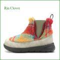 Rin Clover  リンクローバー rc488or   オレンジコンビ  【モコモコ ファー で可愛さアップ!ボリューム満点デザイン Rin Clover   サイドゴアブーツ】