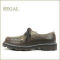 regal  リーガル reF13Nbr  ブラウン 【足を包み込む感じで履きやすい。REGAL 復刻版 可愛いチロリアンシューズ】